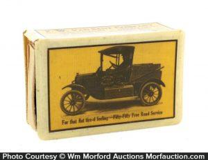 Auto Service Match Box