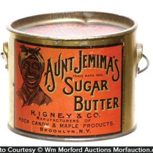Aunt Jemima Sugar Butter Pail