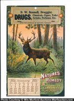 Nature's Remedy Cure Calendar