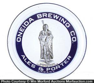 Oneida Brewing Co. Tray