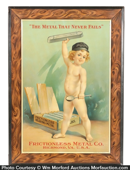 Frictionless Metal Co. Sign