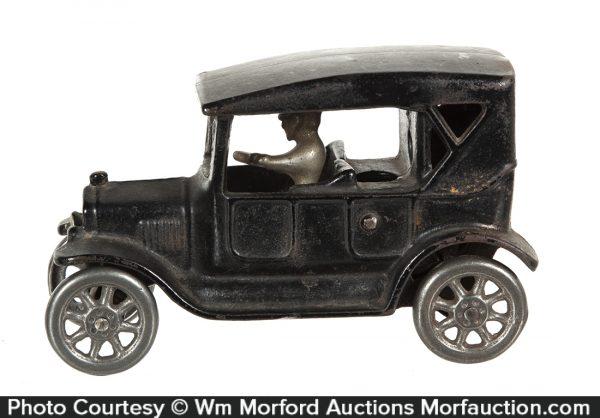 Arcade Cast Iron Model T Car Bank