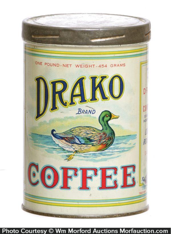 Drako Coffee Can