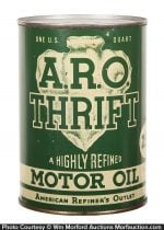 A.R.O. (Arrow) Thrift Motor Oil