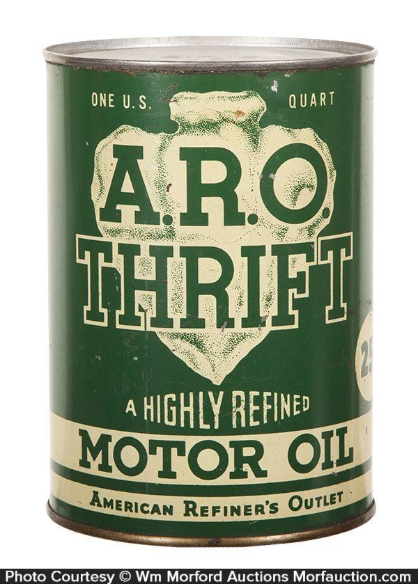 A.R.O. (Arrow) Thrift Motor Oil