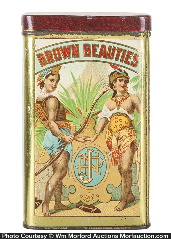 Brown Beauties Cigar Can