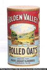 Golden Valley Oats Box