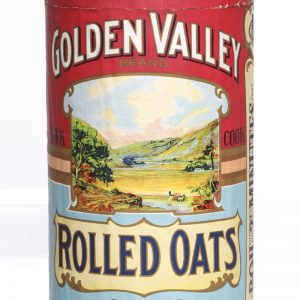 Golden Valley Oats Box