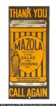 Mazola Oil Door Push