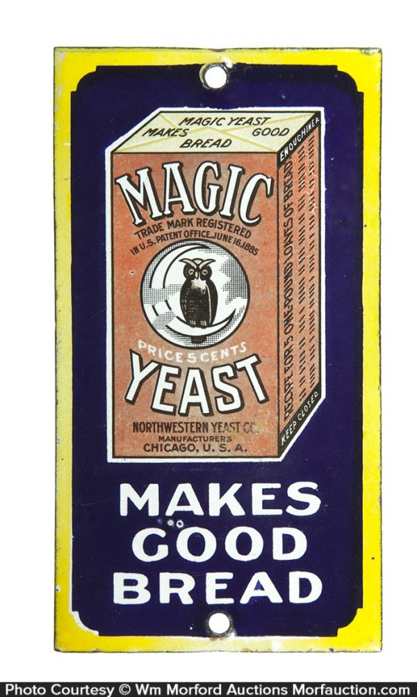 Magic Yeast Door Push