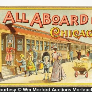 All Aboard Chicago Board Game