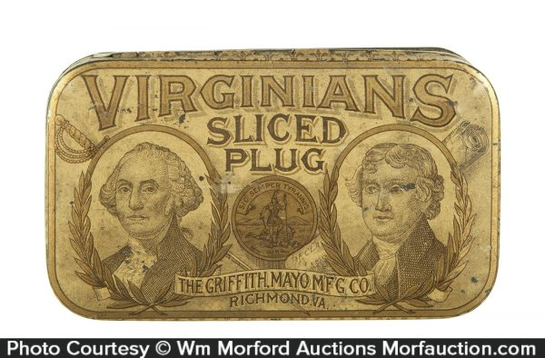 Virginians Tobacco Tin