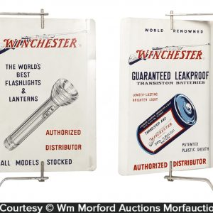 Winchester Flashlights Sign