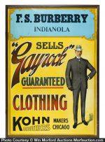 Gayrock Clothing Sign