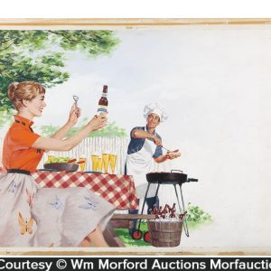 Standard Brewing Co. Barbeque Original Artwork