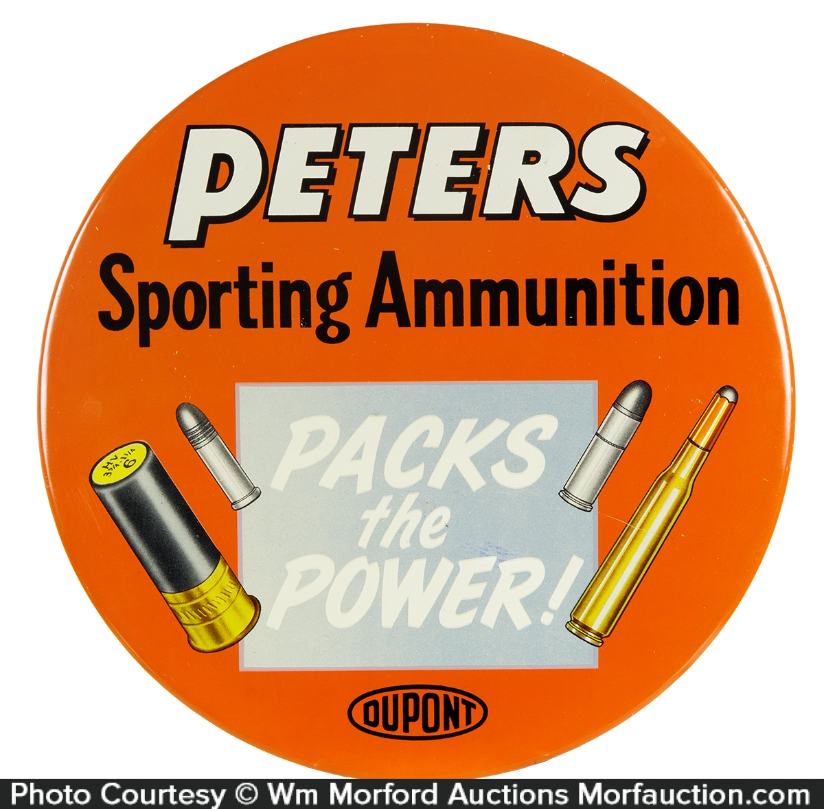 Peters Sporting Ammunition Sign