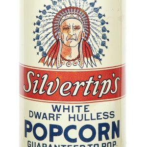 Silvertips Popcorn Tin