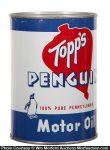 Topp's Penguin Motor Oil Can