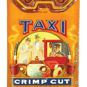 Taxi Tobacco Tin