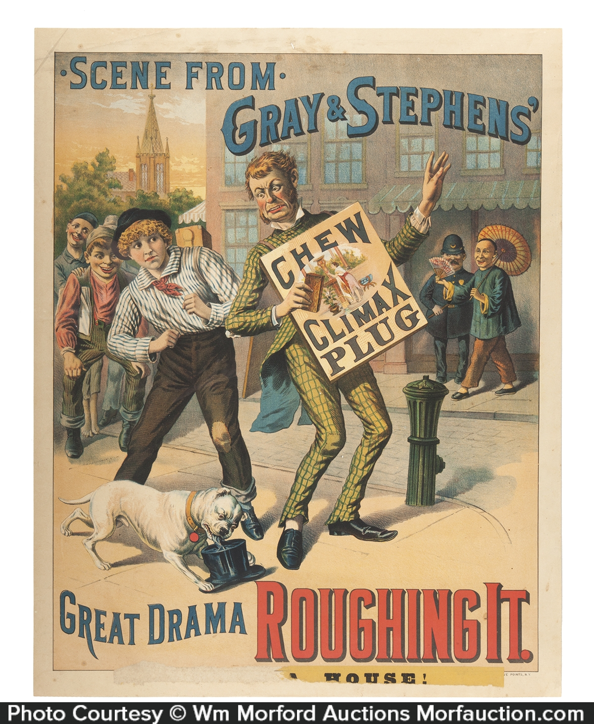 Gray & Stephens Climax Tobacco Poster