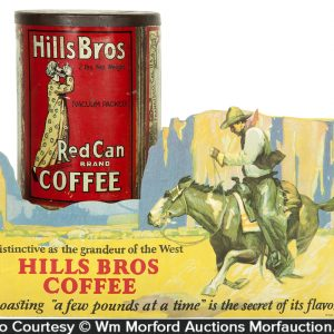 Hills Bros Coffee Display