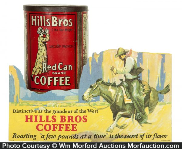Hills Bros Coffee Display