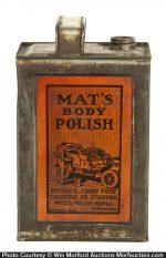 Mat's Body Polish Tin