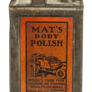 Mat's Body Polish Tin