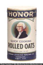 Honor Brand Oats Box