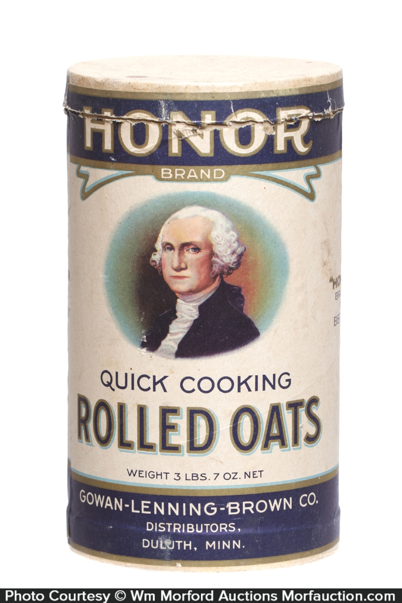 Honor Brand Oats Box