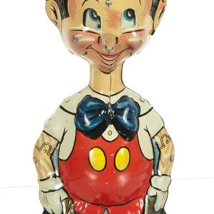 Pinocchio Wind-Up Tin Toy