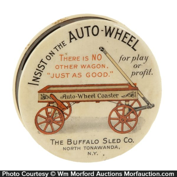 Buffalo Sled Co. Auto-Wheel Bank