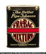 Fra-Bac Mixture Pocket Tobacco Tin