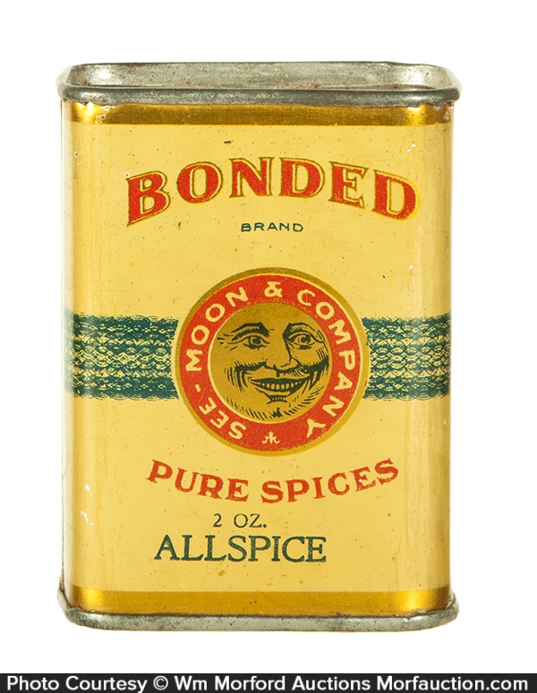 See-Moon & Company Bonded Spice Tin
