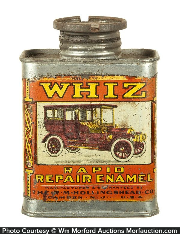 Whiz Rapid Repair Enamel Tin