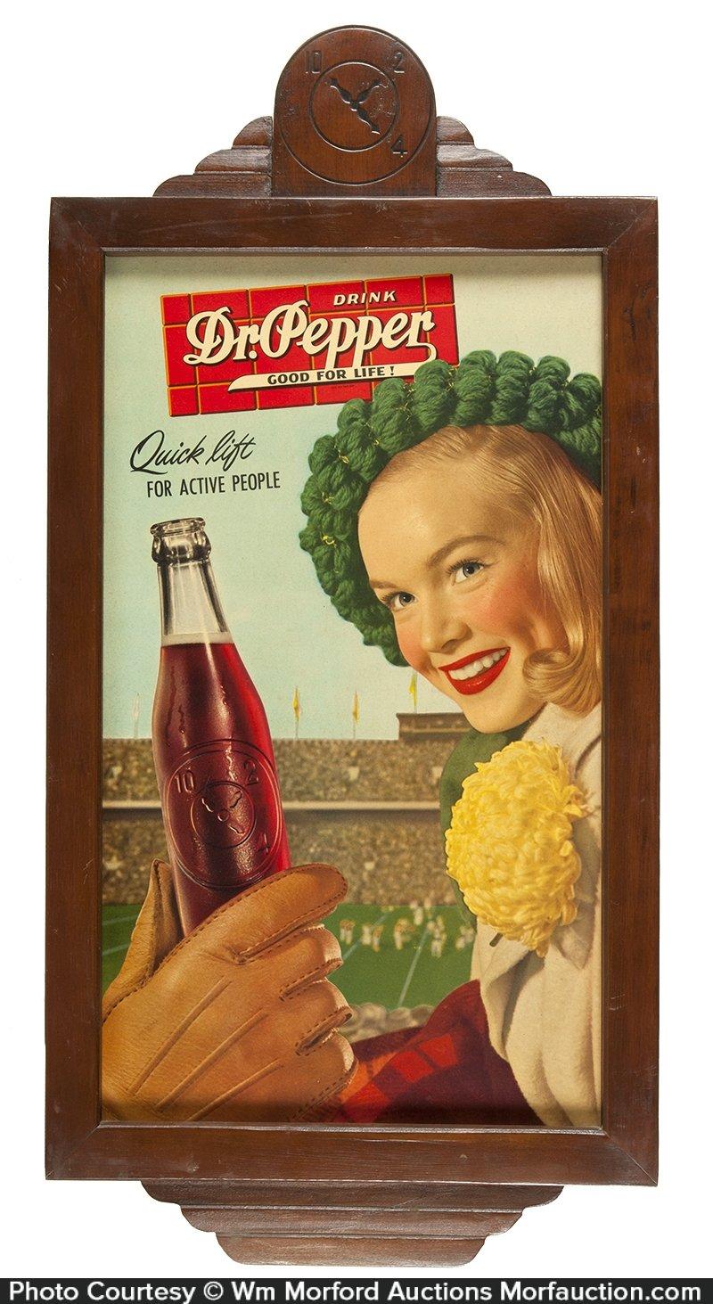 Dr. Pepper Good for Life Sign