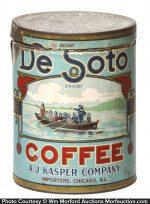 De Soto Coffee Can
