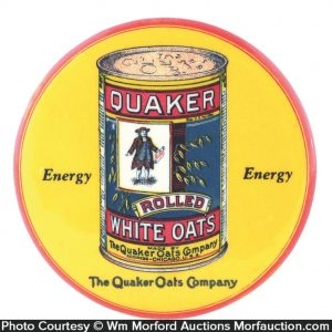 Quaker Oats Pocket Mirror