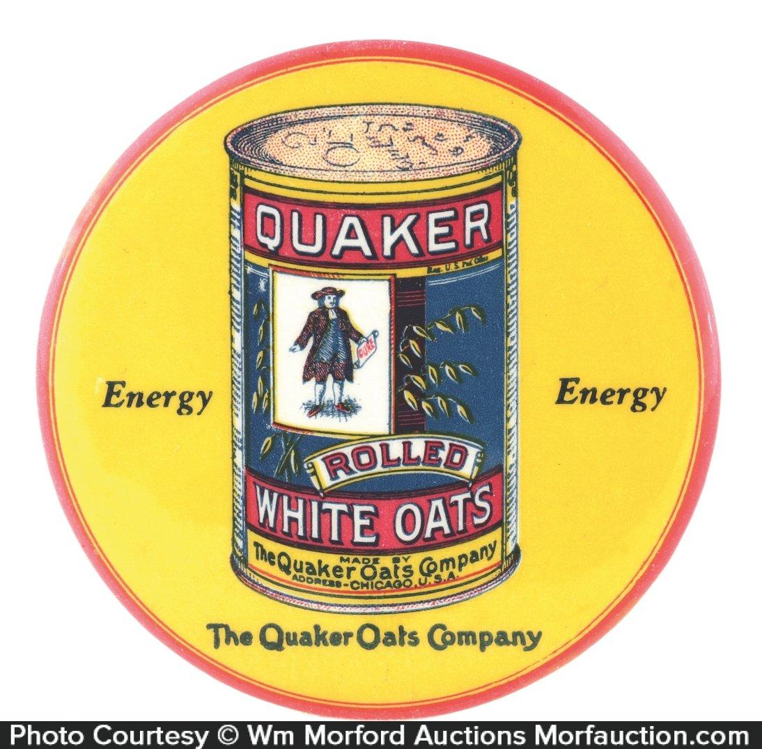 Quaker Oats Pocket Mirror