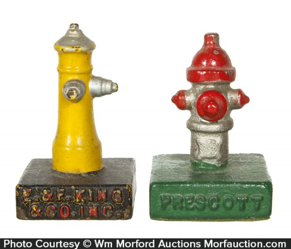 Fire Hydrant Paperweights