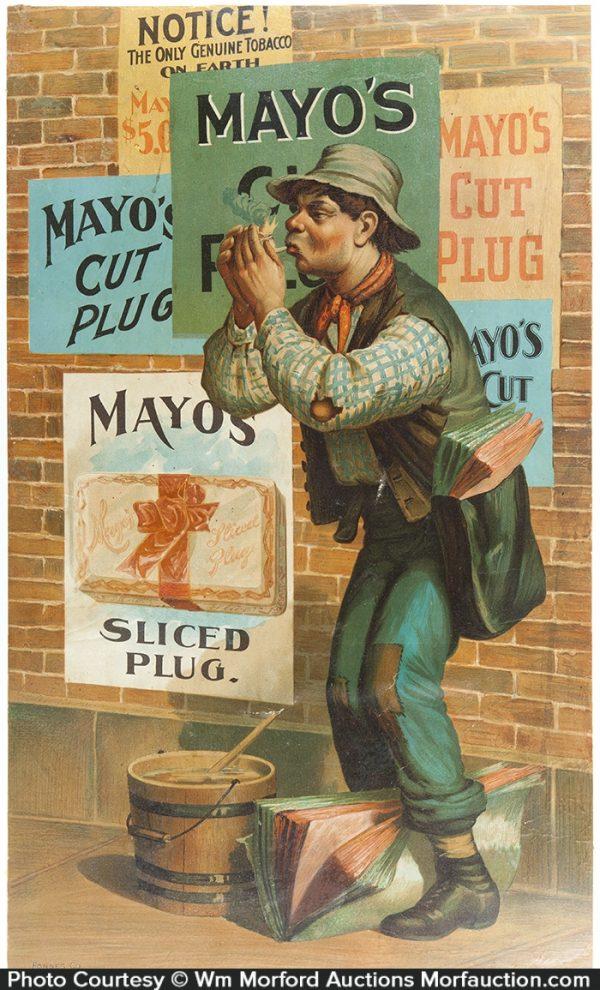 Mayo's Tobacco Sign