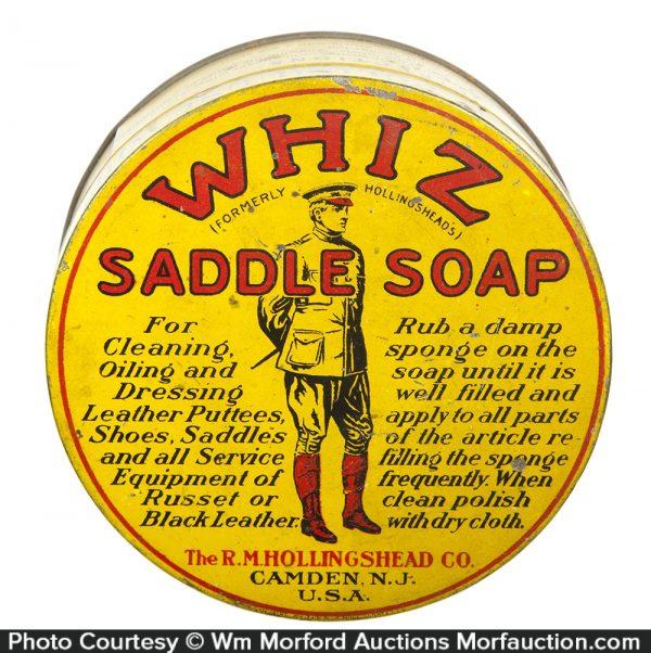 Whiz Saddle Soap Tin