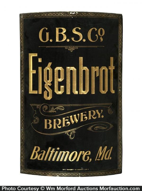 Eigenbrot Brewery Sign