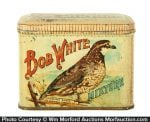 Bob White Tobacco Tin