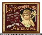 Dr. Jayne's Best Blood Purifier Sign
