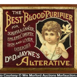 Dr. Jayne's Best Blood Purifier Sign