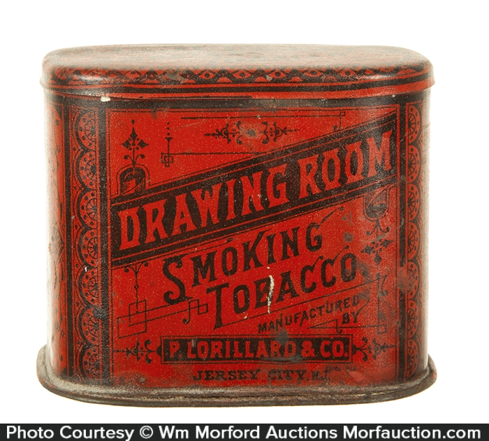 Drawing Room Tobacco Tin