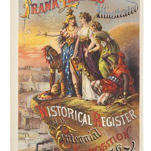 Frank Leslie's 1876 Centennial Exposition Poster