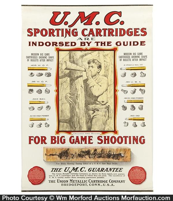 UMC Sporting Cartridges Poster
