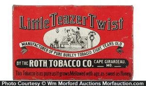 Little Teazer Twist Tobacco Tin